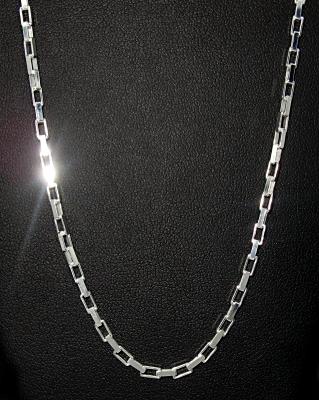 stříbrné řetízky 42 cm