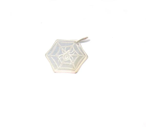 Stříbrný přívesek pavučina 925/1000