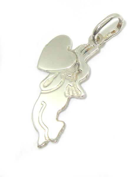 Stříbrný přívěsek anděl bez kamínku 925/1000