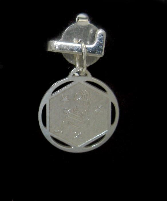 Stříbrný přívěsek měsíční znamení motiv panna