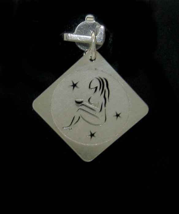 Stříbrný přívěsek měsíční znamení-PANNA