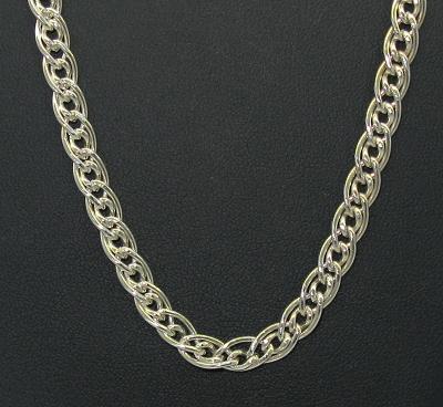 Stříbrný řetízek 925/1000 vzor rombo masivní italské délka 50 cm