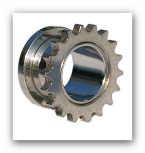 Tunel chirurgická ocel 8-10mm, klasický s vroubky po obvodu