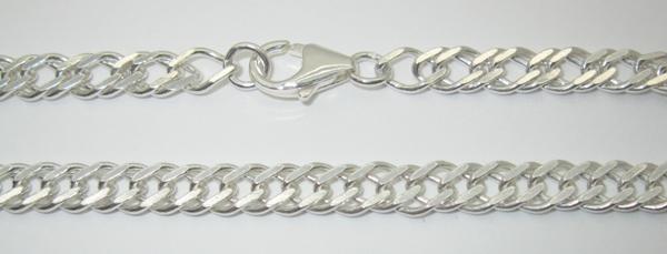 Stříbrné řetízky