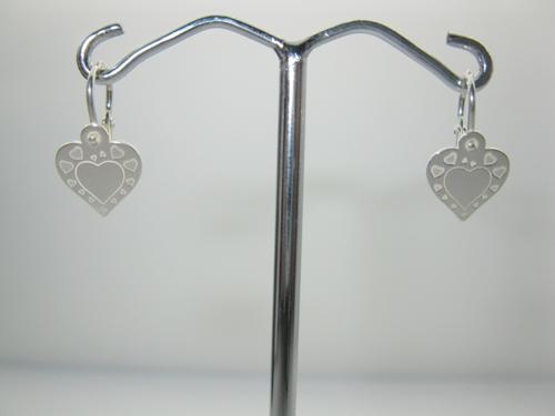 Naušnice stříbro 925/1000