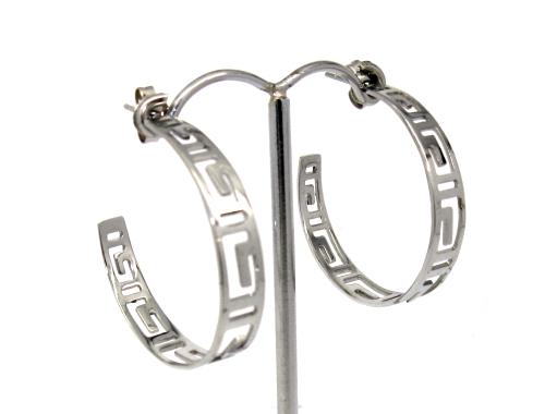 ocelové naušnice, ocelové šperky