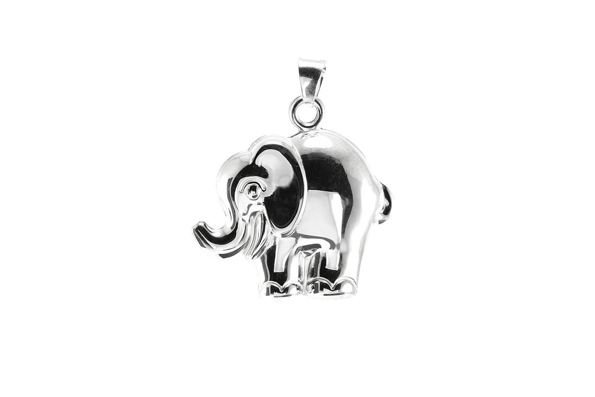Stříbrný přívěšek slon 925/1000