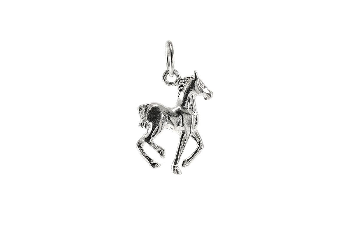 Stříbrný přívěšek kůň 925/1000