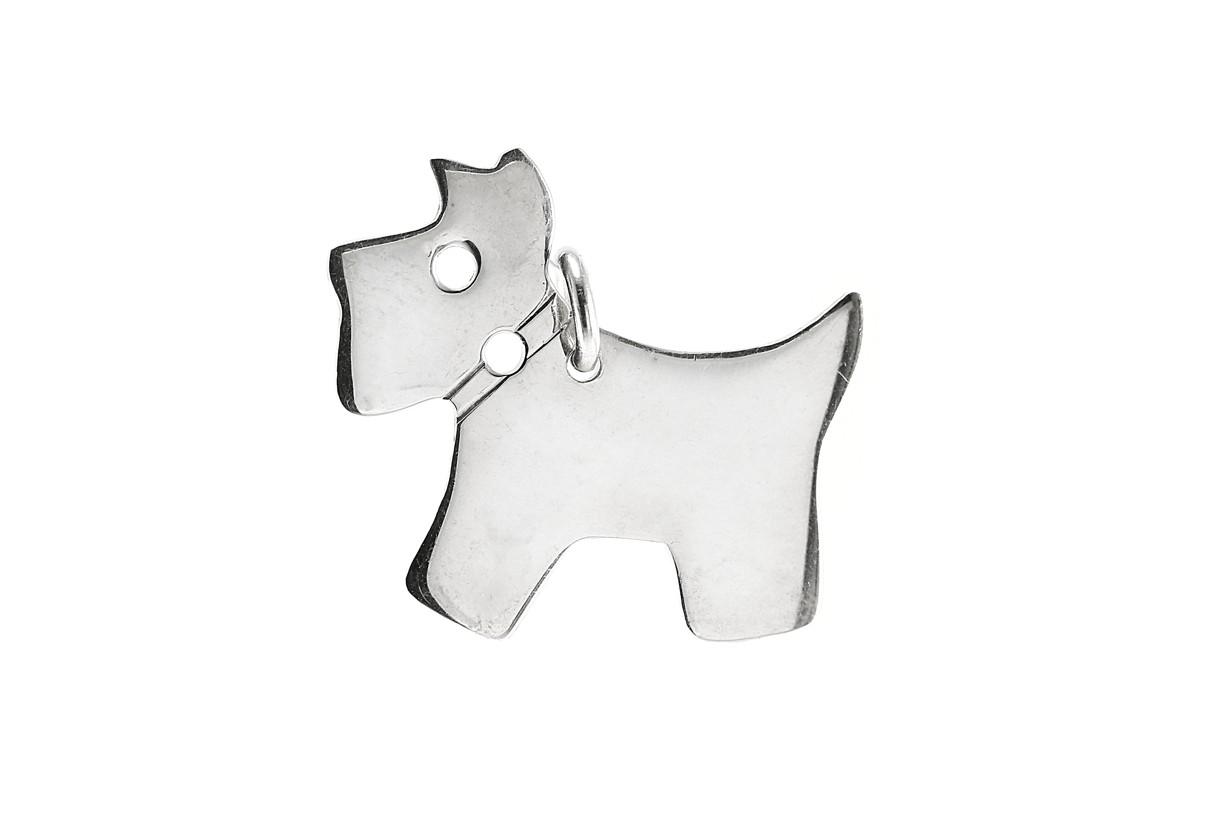 Stříbrný přívěšek pes 925/1000